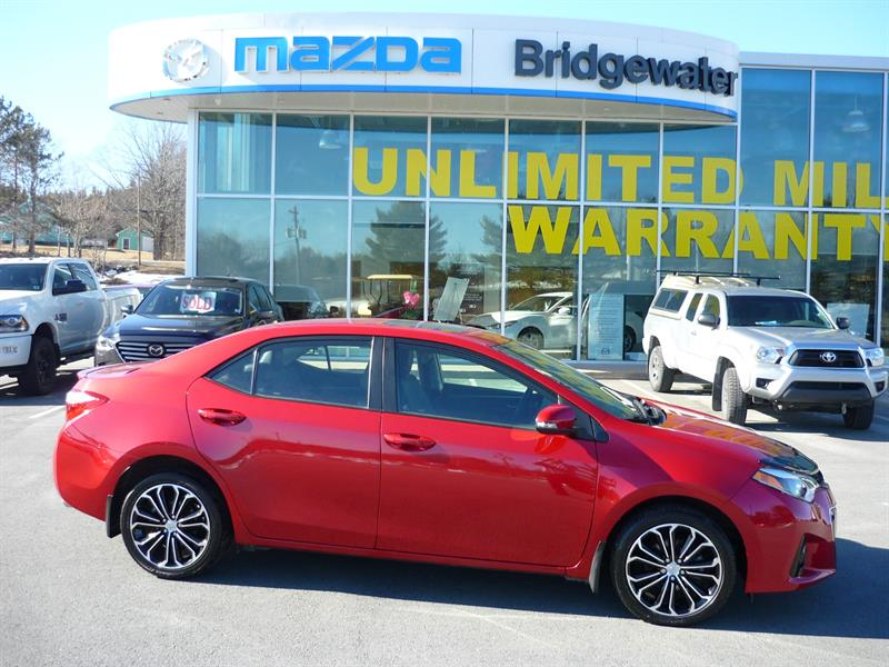 2015 Toyota Corolla 4dr Sdn #18096A