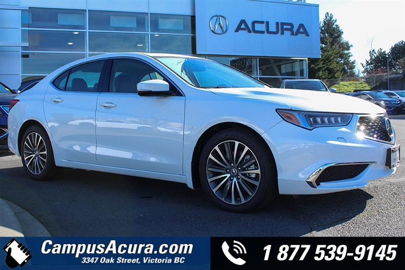 Acura TLX SHAWD Tech New For Sale In Victoria At Campus Auto Group - 2018 acura rl for sale