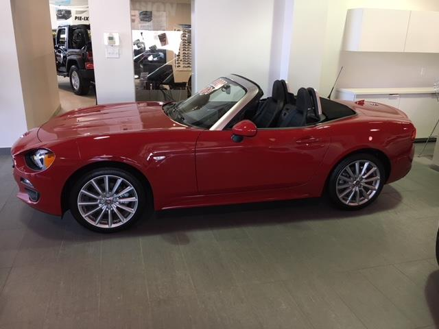 Fiat 124 Spider 2017 2DR CONVERTIBLE LUSSO + GPS + CUIR + BOSE #z17245