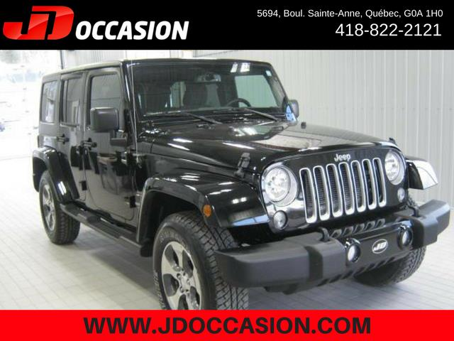 Jeep Wrangler Unlimited 2017 4WD 4dr Sahara #A4873