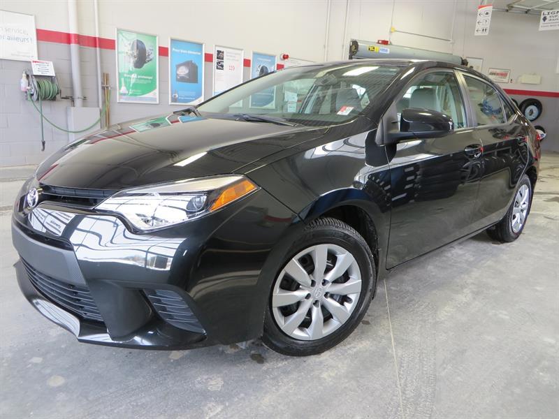 Toyota Corolla 2014 LE GR:A *BAS KM + A/C +AUTOMATIQUE* #38217A