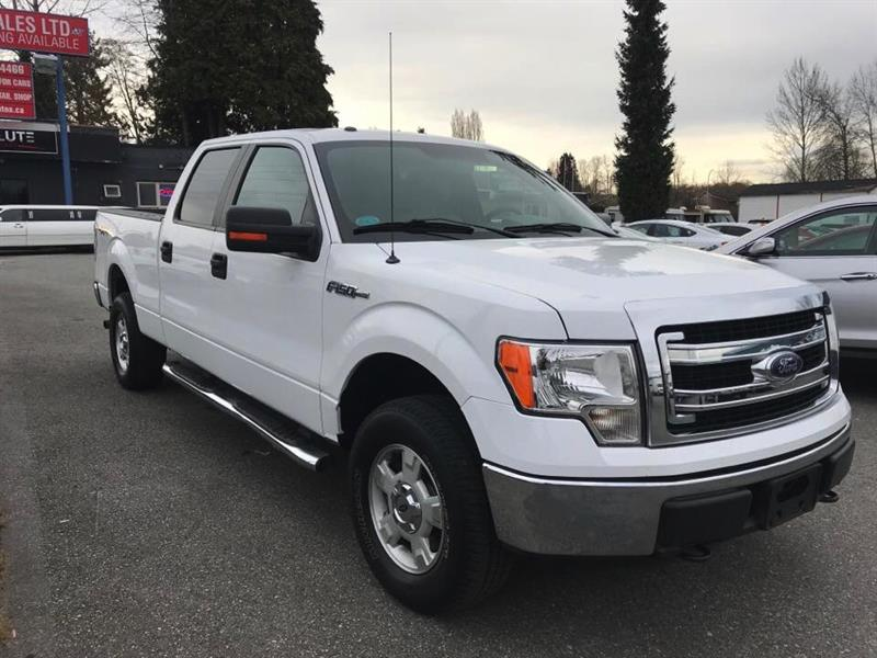 2013 Ford F-150 4WD SuperCrew #GP5832