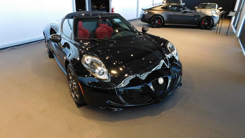 Alfa Romeo 4C 2015 2dr Conv Spider