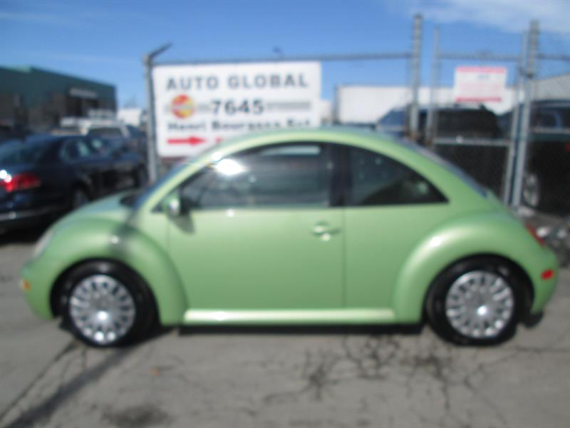 Volkswagen New Beetle 2003  GLS, 2 PORTE, MANUEL, A/C, TRÈS PROPRE! #18-274