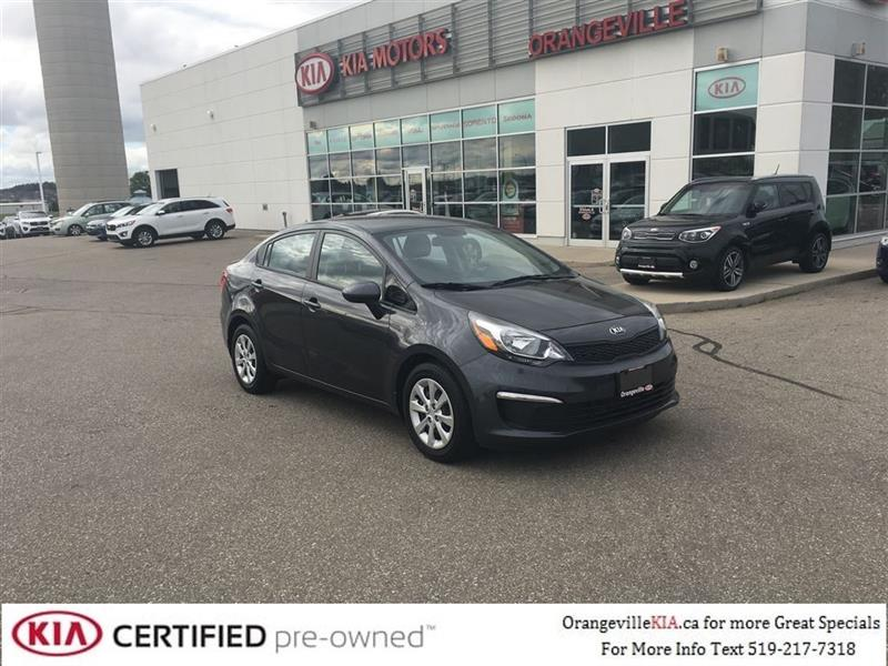 2016 Kia Rio LX+ MT - Trade-In - CarProof $0 #76080A