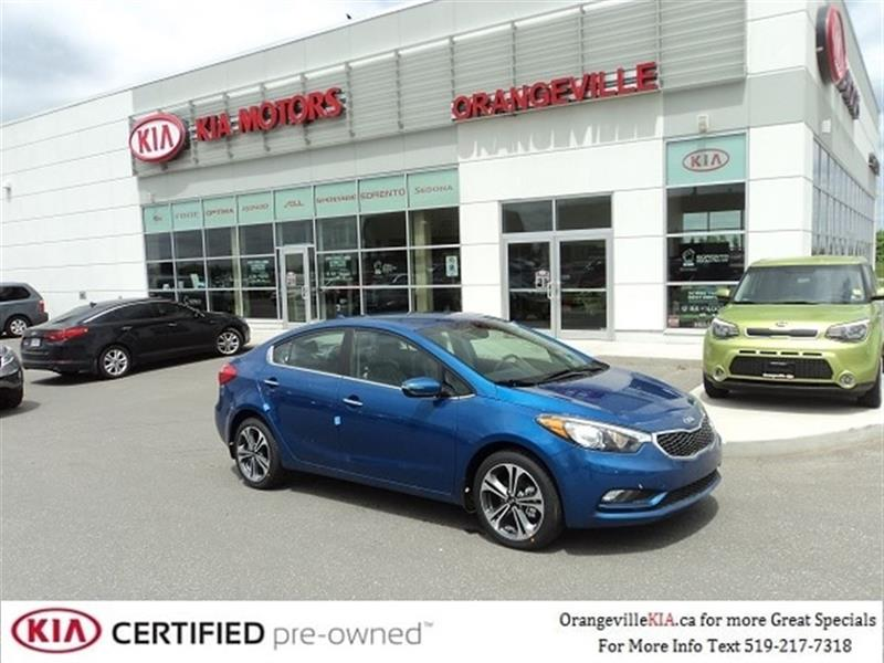 2014 Kia Forte Sedan EX MT - Lease Return #K0644