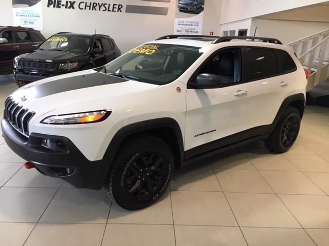 Jeep Cherokee 2018 Trailhawk Leather Plus 4x4 + GPS + SAFETY TECH +  #Z18119