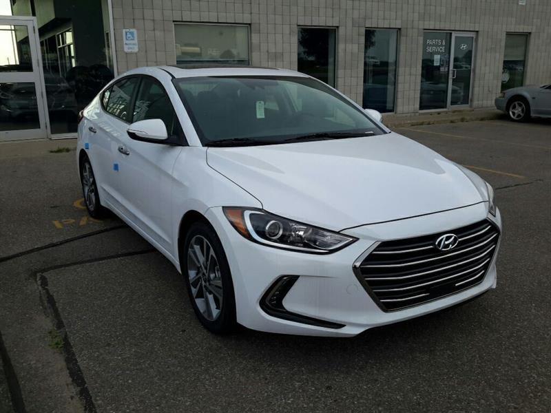 2017 Hyundai Elantra Limited SE Sedan Auto - Sunroof/BSD/LDWS/ACC/FCW #72118