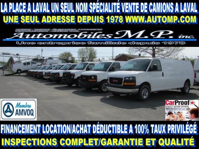 Chevrolet Express 2010 GMC SAVANA CARGO CUBE TOUS GARANTIE #1112561