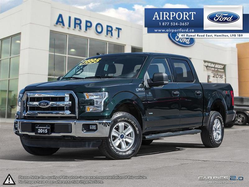 2015 Ford F-150 XLT 4X4 with only 55,839 kms #1HL009