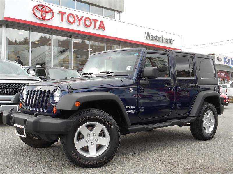 2013 Jeep Wrangler Unlimited Sport #SE18559A