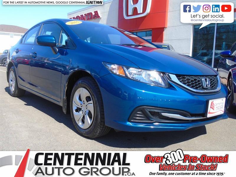 2015 Honda Civic Sedan LX   1.8L #8989A