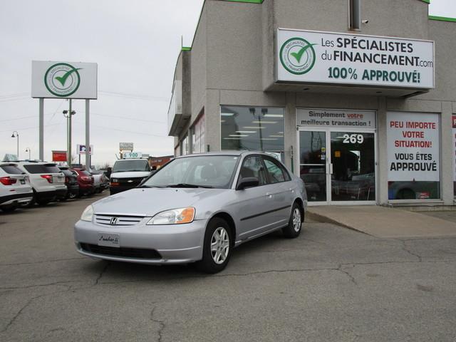 Honda Civic 2002 4dr Sdn Auto #F180165-04