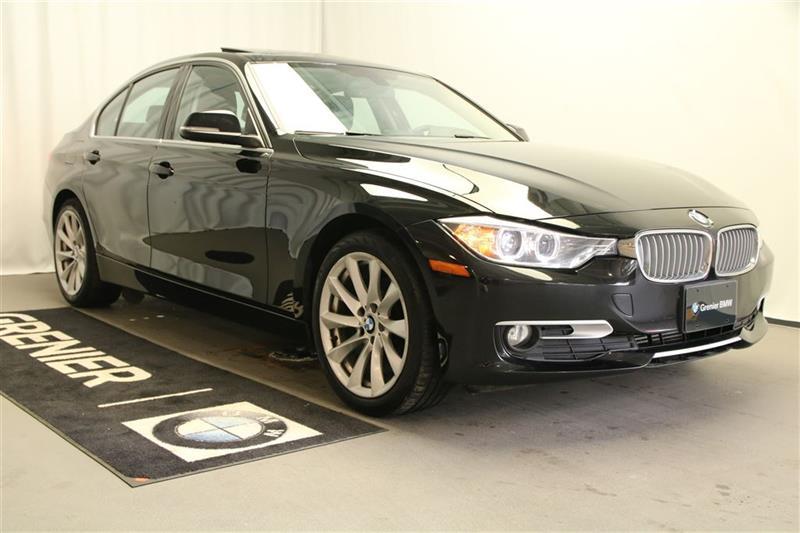 BMW 320I 2014 lumières xénon+vrai cuir+groupe moderne+0.9% #B0291