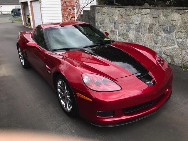 2008 Chevrolet Corvette 2dr Cpe Z06 #GP7824