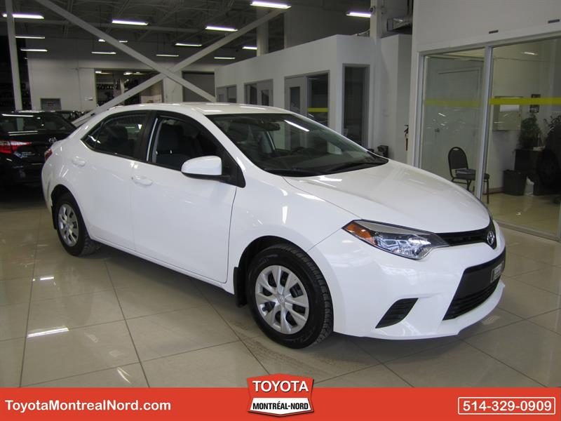 Toyota Corolla 2015 CE Gr. Electric #3085 AT
