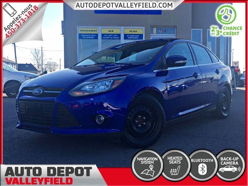 Ford FOCUS 2014 Titanium Auto. + NAVI, Camera, Mags #P0937