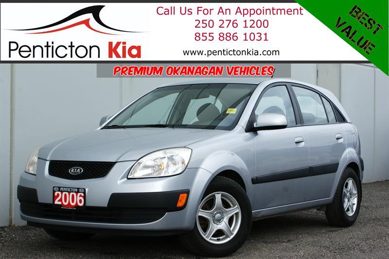 2006 Kia Rio EX - Heated Seats, Air Conditioning, Bluetooth #18PK06