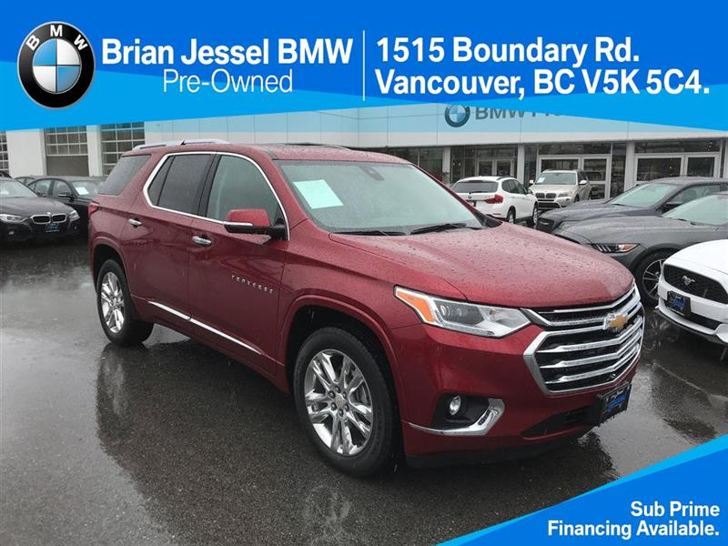 2018 Chevrolet Traverse AWD High Country #BP6276