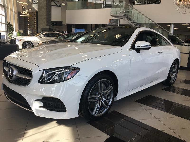 Mercedes-Benz E400 2018 4MATIC Coupe #18-0475