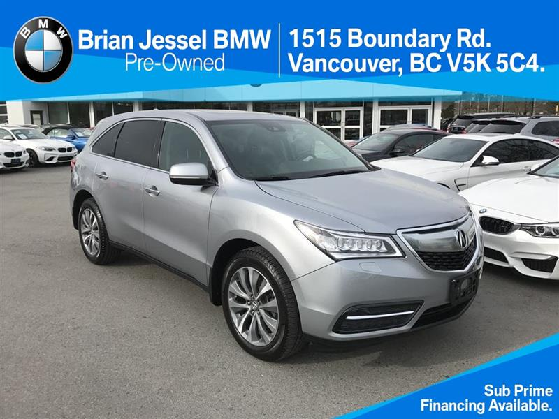 2016 Acura MDX at technology pkg #BP6163