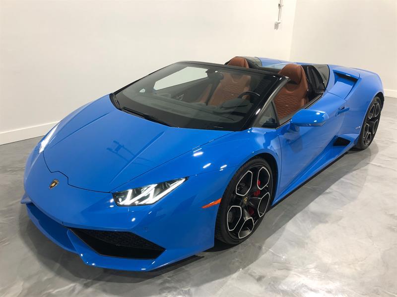 Lamborghini Huracan 2016 LP610-4 SPYDER LE MANS #ADR5477