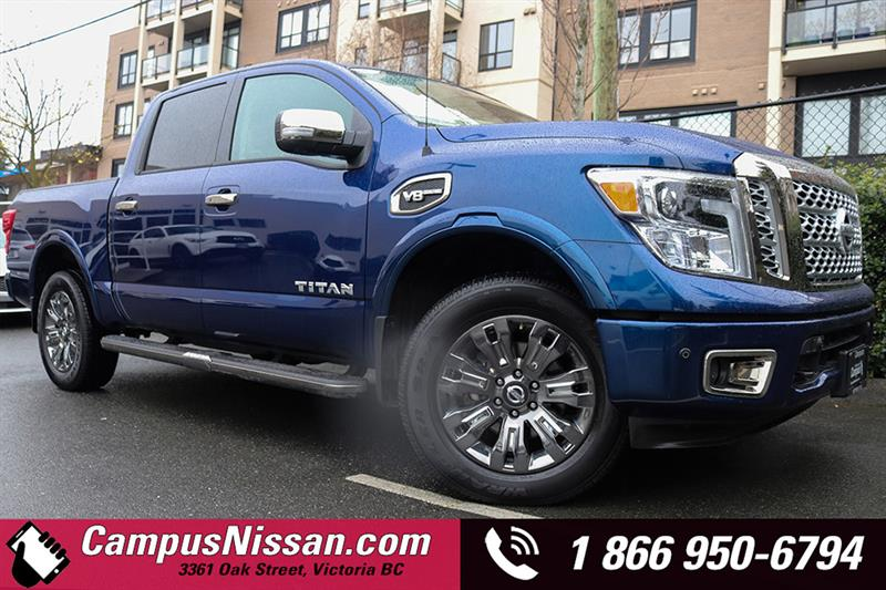 2017 Nissan Titan 4WD Crew Cab Platinum Reserve #JN2847