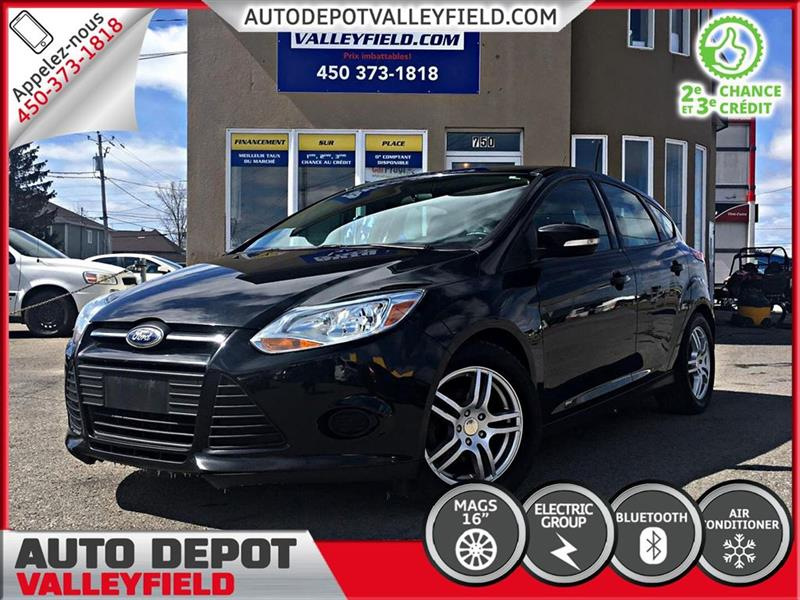Ford FOCUS 2014 SE Auto. + AC, Cruise, Bluetooth #P0935