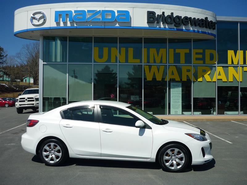 2012 Mazda MAZDA3 4dr Sdn GX #18144A