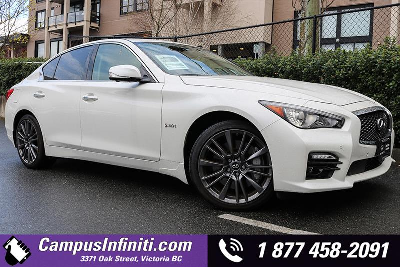 2016 Infiniti Q50 Red Sport 400 Technology Package #B6024