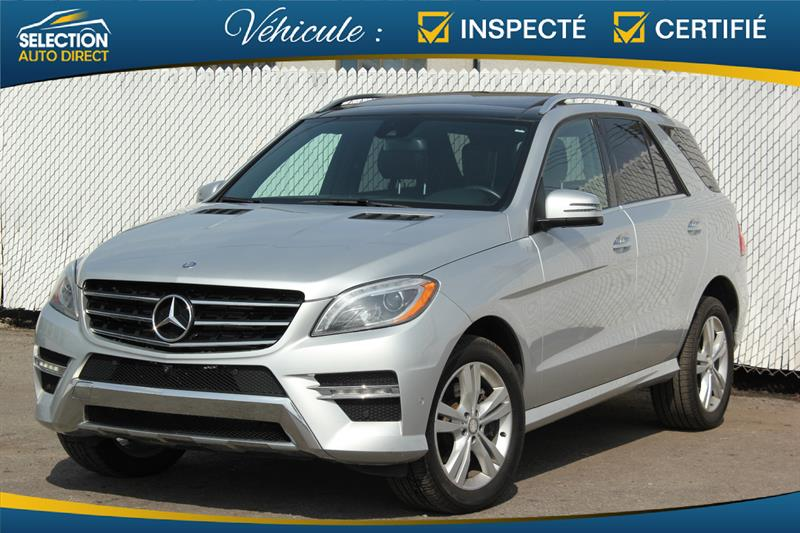 Mercedes-Benz M-Class 2014 4MATIC 4dr ML 350 BlueTEC #S319307