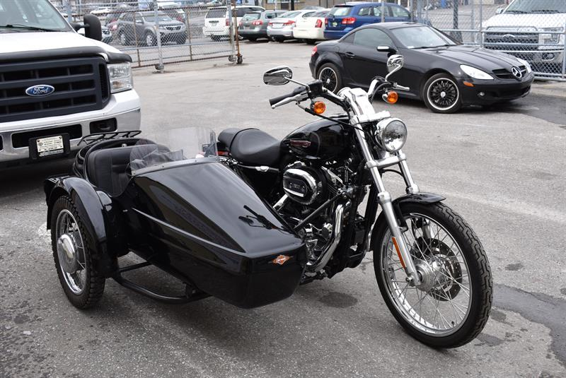 3 Roues Harley softail avec side car 2010