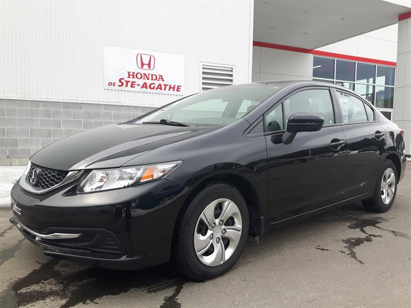 Honda Civic 2014 LX CVT *Bas km, Bluetooth, 8 Pneus, A/C** #j130a