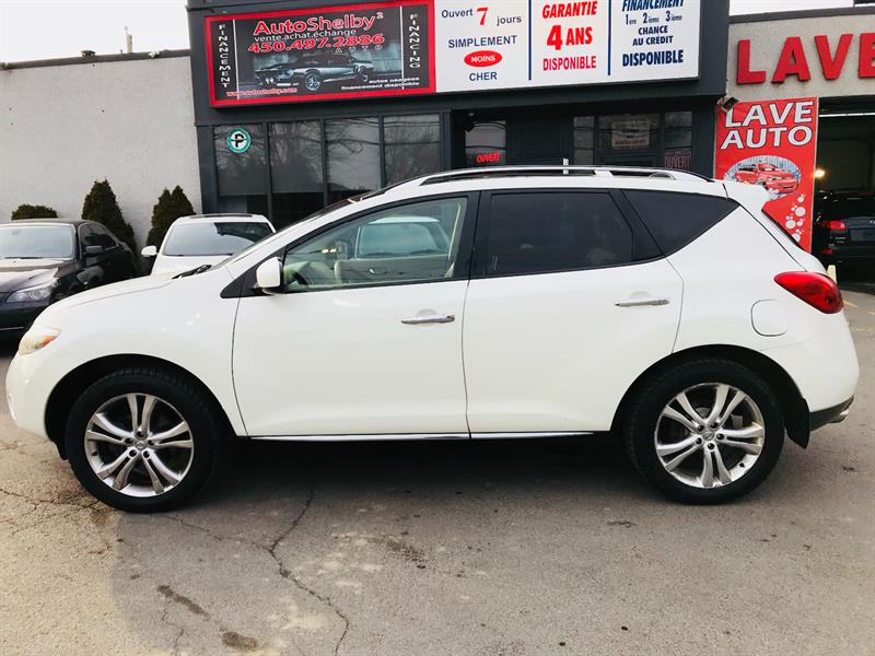 Nissan Murano 2009 LE-4WD-Cuir-Toit-Camera-Jamais Accidenter #94505-2