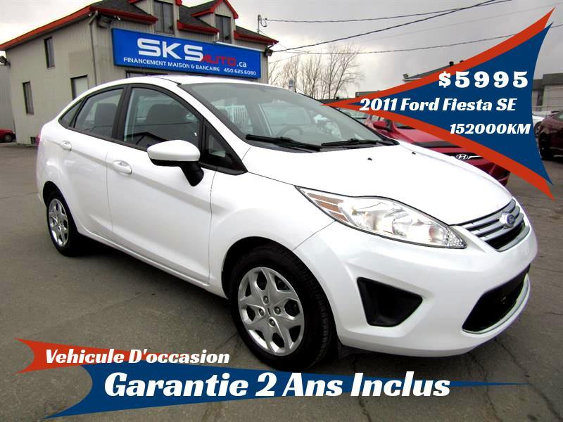 Ford Fiesta 2011 SE (GARANTIE 2 ANS INCLUS) ***FINANCEMENT MAISON** #SKS-4073