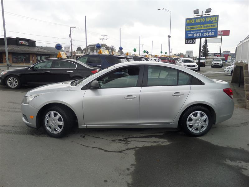 Chevrolet Cruze 2014 4dr Sdn 1LS