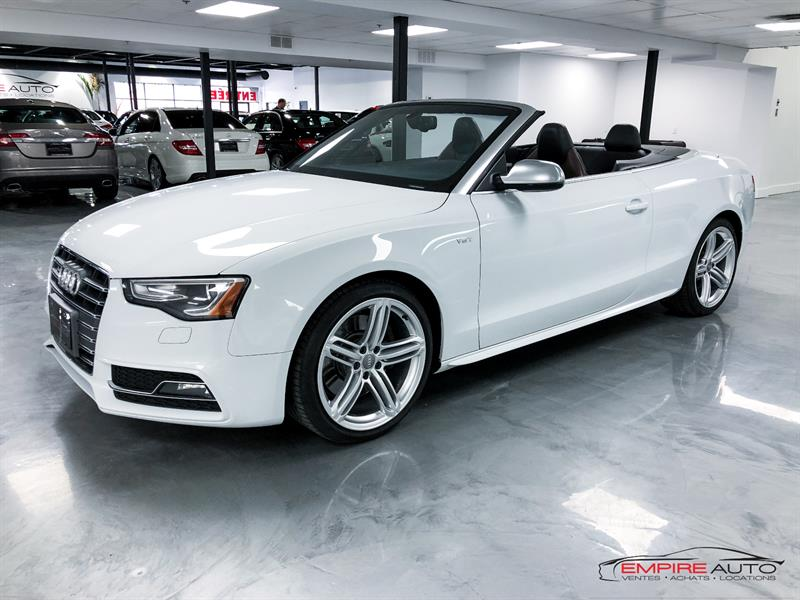 Audi S5 2013 S5 CONVERTIBLE 333HP #AGH5222
