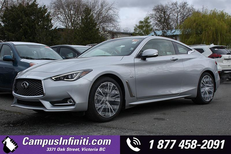 2018 Infiniti Q60 3.0t LUXE 300 All-Wheel Drive  #18-Q6001