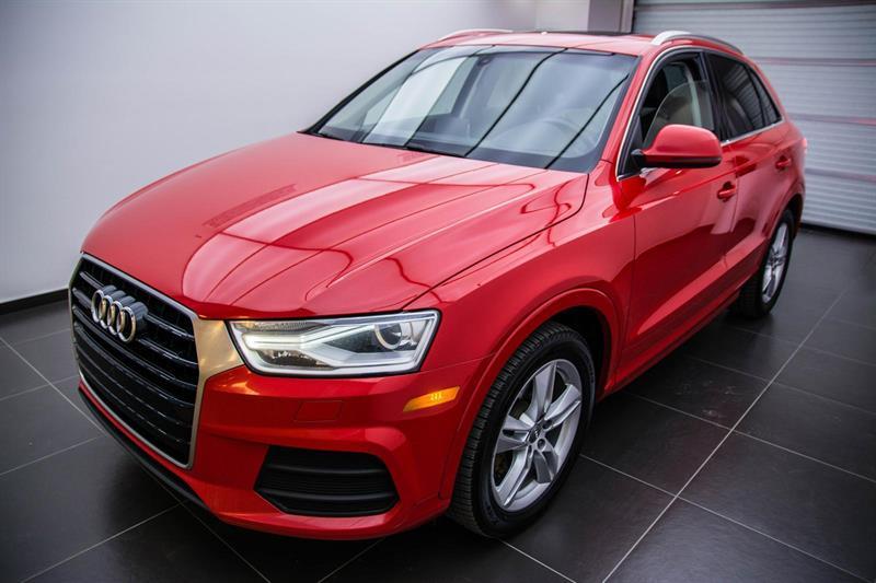 Audi Q3 admissible 6ans/160000km 2016
