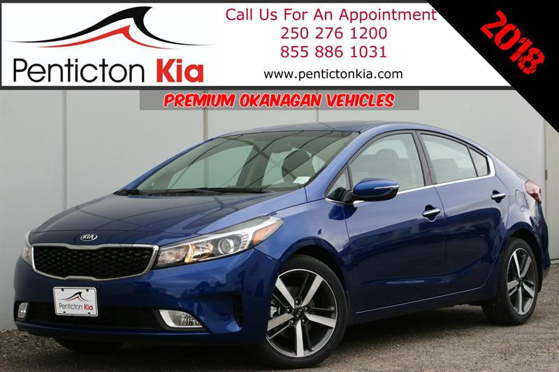 2018 Kia Forte Ex+ Power Sunroof, Apple CarPlay, Heated Seats #18FT03