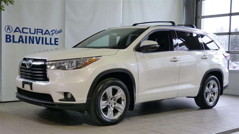 Toyota Highlander 2014 LIMITED AWD ** AUCUN ACCIDENT ** #P5441