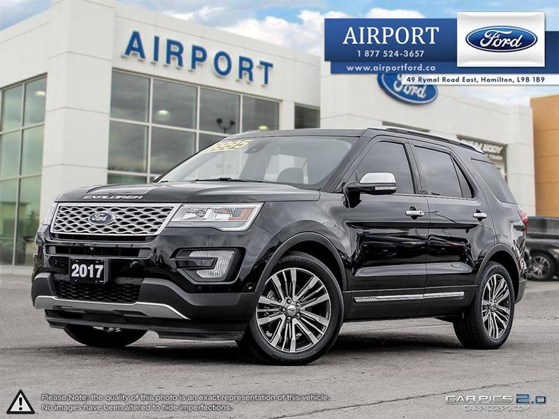 2017 Ford Explorer Platinum 4WD with only 38,152 kms #A80413