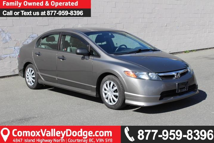 Valley Motor Honda >> 2008 Honda Civic Dx Used For Sale In Courtenay At Comox