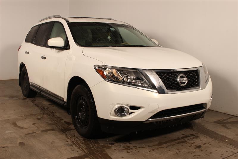 Nissan Pathfinder 2013 ** PLATINE ** CUIR DVD GPS #80855a