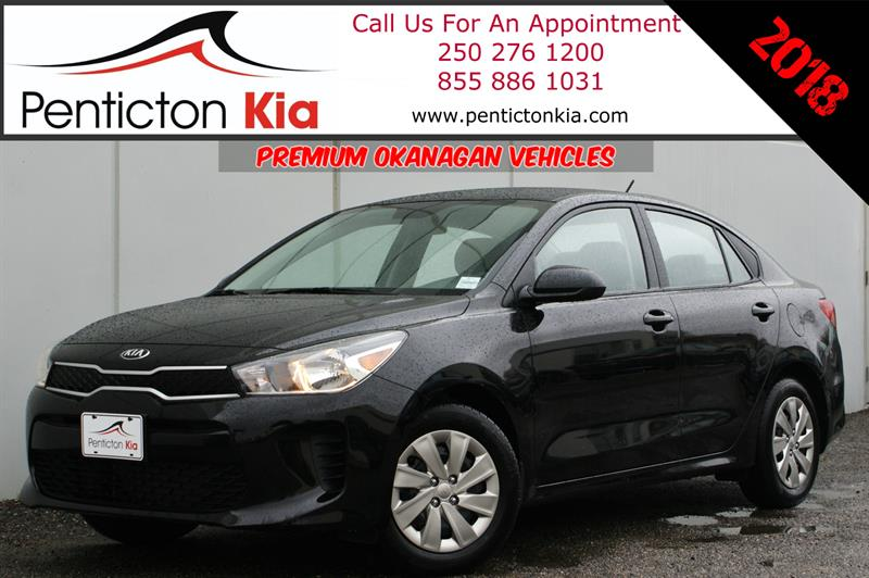 2018 Kia Rio LX Back Up Camera, Heated Seats, Bluetooth #18R11