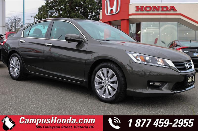 2014 Honda Accord Sedan EX-L 4DR Auto Bluetooth #18-0374A