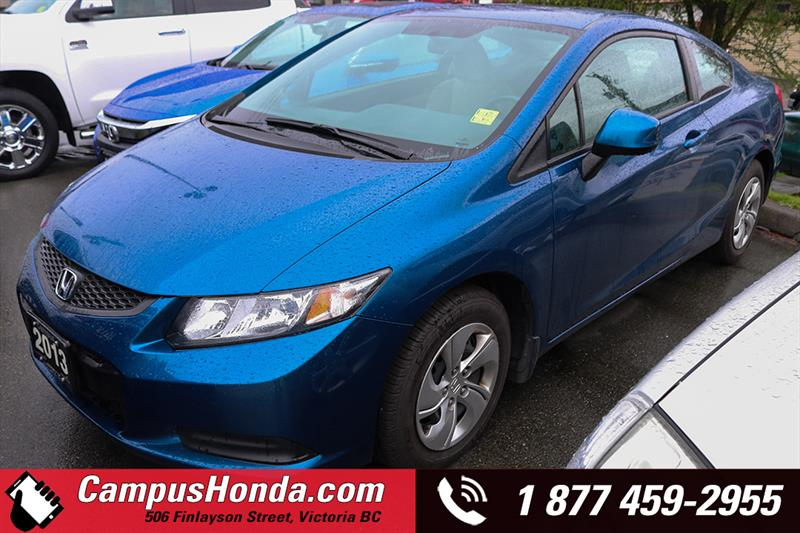 2013 Honda Civic Cpe LX 2DR Manual Bluetooth #17-0498A