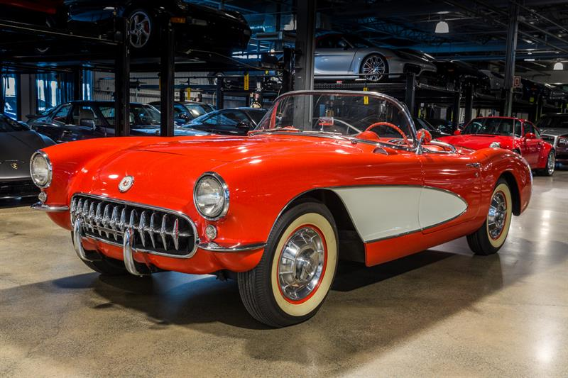 Chevrolet Corvette 1956 Convertible