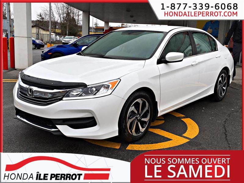 Honda Accord Sedan 2016 4dr I4 CVT LX CAMERA DE RECULE #44488