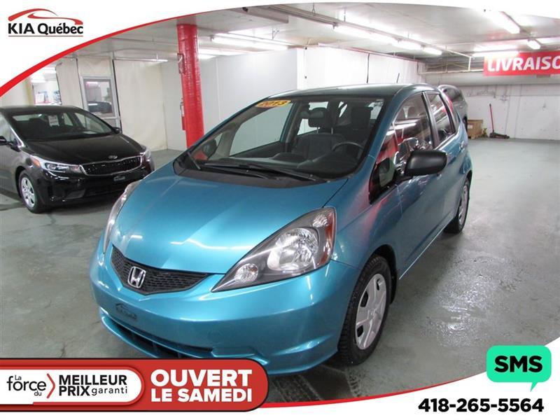 Honda FIT 2013 DX-A *BAS KILOMÉTRAGE* CRUISE CONTROL* #QU10139